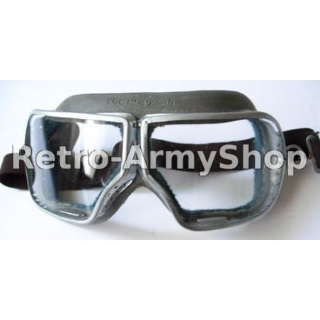 Brýle na motorku.